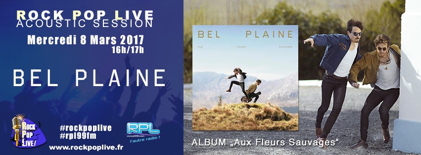 Bel Plaine Session acoustique Rock Pop Live