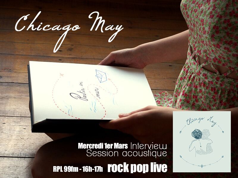 Darno reçoit Chicago May dans Rock Pop Live