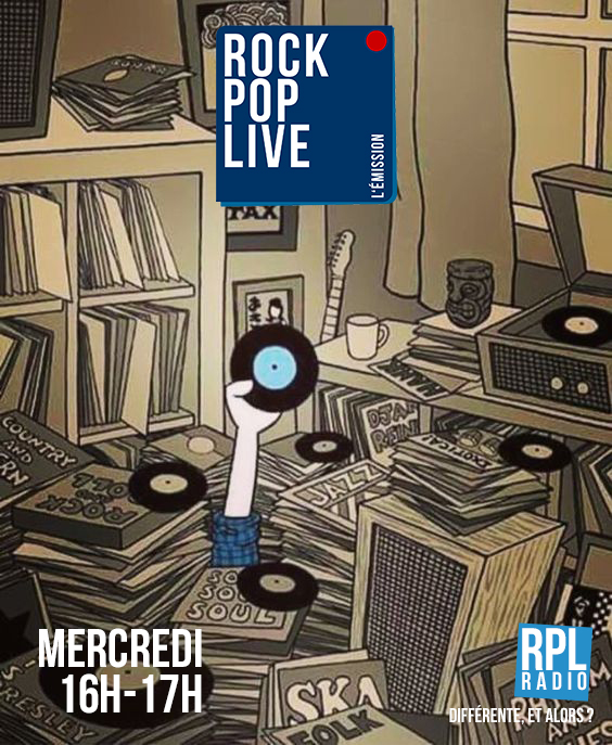 Rock Pop Live sur RPL radio